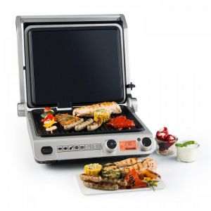 Klarstein Grand Gourmet Ceramic - Grill contact 2000 Watts vitrocéramique