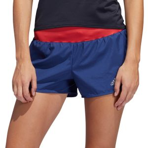 Adidas Short Run it Bleu marine / Rouge - Taille S