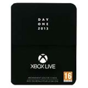 Microsoft Carte Abonnement Xbox Live Gold 12 mois - Edition Day One
