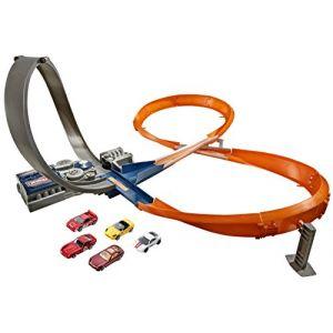Mattel Hot Wheels Raceway avec 5 voitures