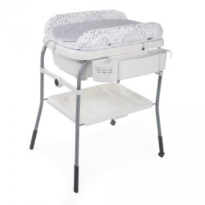 Chicco Combi Bain-Change - Cuddle & Bubble - Cool Grey