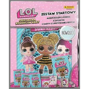 Panini LOL Surprise - Starter Pack (1 Classeur + 2 Pochettes)