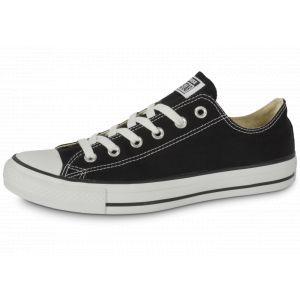Converse Chuck Taylor All Star Core Ox, Baskets mode mixte adulte - Noir, 41 EU