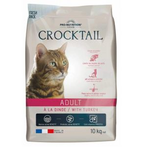 Flatazor Pro-Nutrition Crocktail Chat Adult Dinde, 10 kg