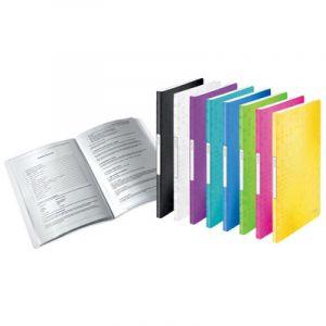 Leitz Protège-documents WOW, A4, PP, 20 pochettes, noir - Lot de 4