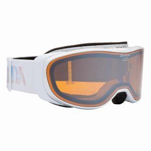 Alpina Bonfire 2.0 Mm M30 Hybrid Mirror Orange/CAT2 - Masque de ski