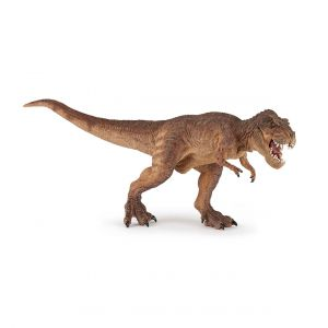 Papo T-rex courant marron