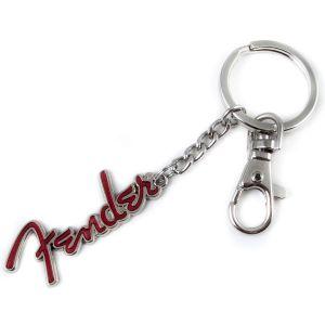 Fender porte-clés logo, rouge