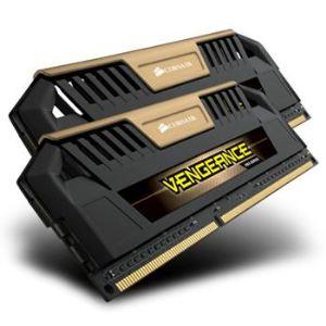 Corsair CMY8GX3M2A1600C9B - Barrettes mémoire Vengeance Pro 2 x 4 Go DDR3 1600 MHz CL9 240 broches