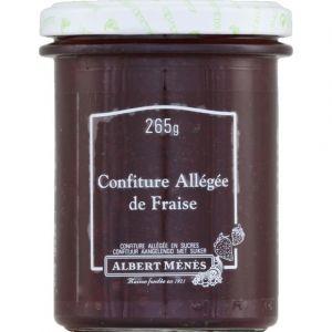 Albert ménès Confiture allégée de fraise - Le pot de 265g