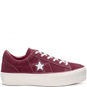 Converse Chaussures ONE STAR PLATFORM OX rouge - Taille 36,37,38,39,40,41,37 1/2