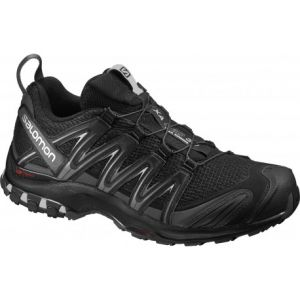 Salomon XA Pro 3D, Shoes Homme, Noir (Black/Magnet/Quiet Shade), 45 2/3