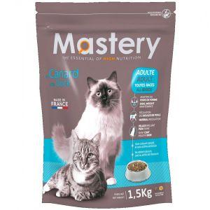 Mastery Croquettes pour chat Adult au canard - Contenance : 1,5 kg