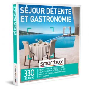 Smartbox Coffret cadeau Séjour détente et gastronomie