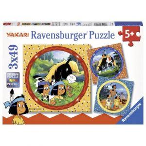 Ravensburger Puzzle Yakari 49 Pièces 3 Puzzles