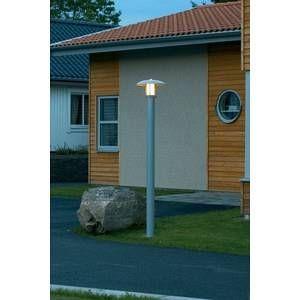Konstsmide Lampe extérieure Heimdal 60 W argent 200 cm