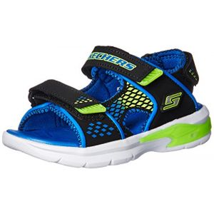 Skechers E-II black/blue/lime