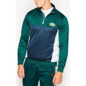 ELLESSE Sweat-shirt Heritage Sweat tricolore avec boutons VETICA OH TOP vert - Taille EU S,EU M,EU L