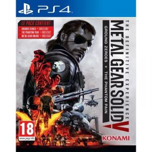 Metal Gear Solid V : The Definitive Experience sur PS4
