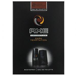 AXE Dark Temptation - Coffret eau de toilette et déodorant