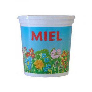 Nicot 300 pots Champêtre 1kg (PEP) - MATÉRIEL APICOLE FRANÇAIS EN PLASTIQUE ALIMENTAIRE