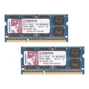 Kingston KTA-MB1066K2/8G - Barrettes mémoire 2 x 4 Go DDR3 1066 MHz 204 broches