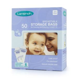 Lansinoh 40055 - 50 sachets pour lait maternel