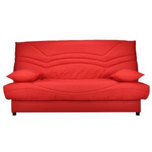 Canapé clic-clac Saloon avec coffre de rangement en coton