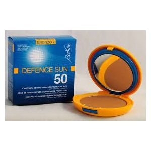 BioNike Defence Sun 50 - Fond de teint compact solaire N°2 Bronze