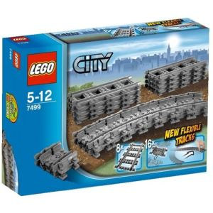 Lego 7499 - City : Rails flexibles