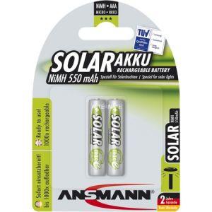 Ansmann maxE Solar Akku x2 type AAA