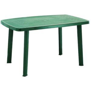 Progarden Table de jardin ovale Faro en polypropylène 140 cm