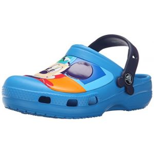 Crocs Creative Mickey Colorblock Clog Kids, Mixte Enfant Sabots, Bleu (Ocean/Nautical Navy), 34-35 EU