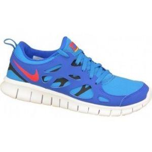 Nike Free Run 2.0 GS hyper cobalt/team orange/photo blue/black