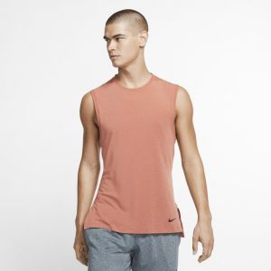Nike Débardeur de training de yoga Dri-FIT pour Homme - Rose - Taille M - Male