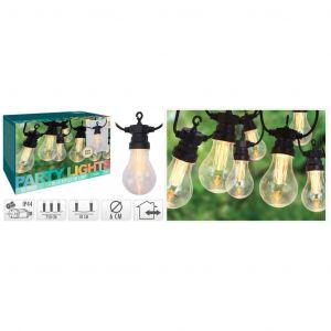 Progarden Guirlande lumineuse de jardin 10 ampoules 3,2 V