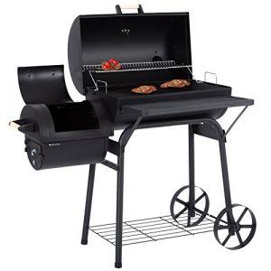 Ultranatura Denver - Barbecue fumoir à 2 chambres de cuisson 119x66x135 cm