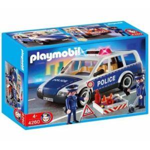 Playmobil 4260 - Voiture de police de patrouille