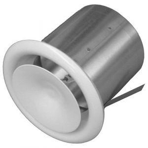 Isotip Joncoux Bouche à cone reglable avec manchette placo - 100 mm