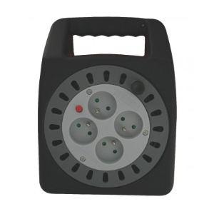 Dhome 408341 - Enrouleur domestique H05 VV-F 3G 1,5 mm² 15 m
