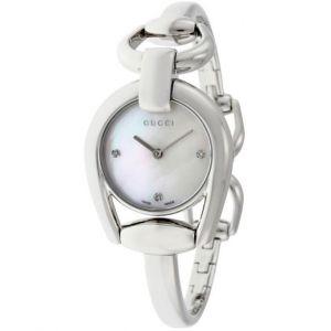 Gucci YA139506 - Montre pour femme avec bracelet en acier