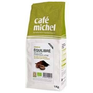 Café en grains bio Mélange Equilibré - 1Kg - Café Michel