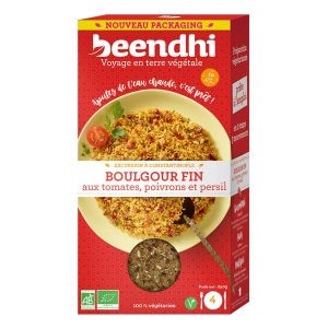 Beendhi Boulgour fin tomates poivrons et persil 250g