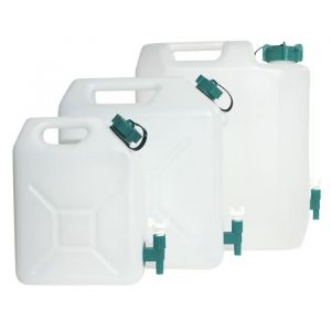 Eda Plastiques Jerrican alimentaire + robinet 15L