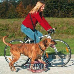 Trixie Laisse spéciale vélo et jogging pour chien