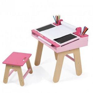 bureau bebe rose comparer 58 offres. Black Bedroom Furniture Sets. Home Design Ideas