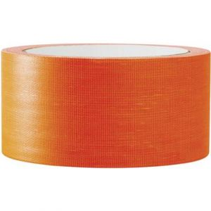 Toolcraft Ruban adhésif isolant électrique orange fluo (L x l) 25 m x 50 mm Contenu: 1 bobine(s) 80FL5025OC
