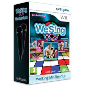 We Sing 80s - Pack jeux + 2 micros [Wii]