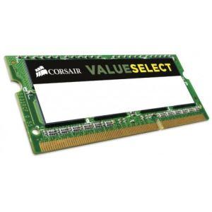 Corsair CMSO8GX3M1C1333C9 - Barrette mémoire Value Select 8 G SO-DIMM 8 Go DDR3L 1333 MHz CL9