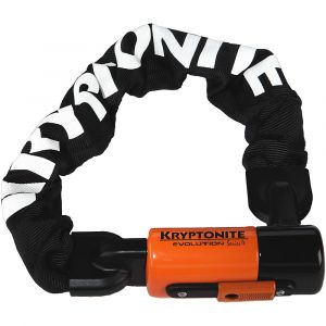 Kryptonite Evolution Série 4 Mini 1055 Chaîne d'antivol Noir/Orange 10 mm